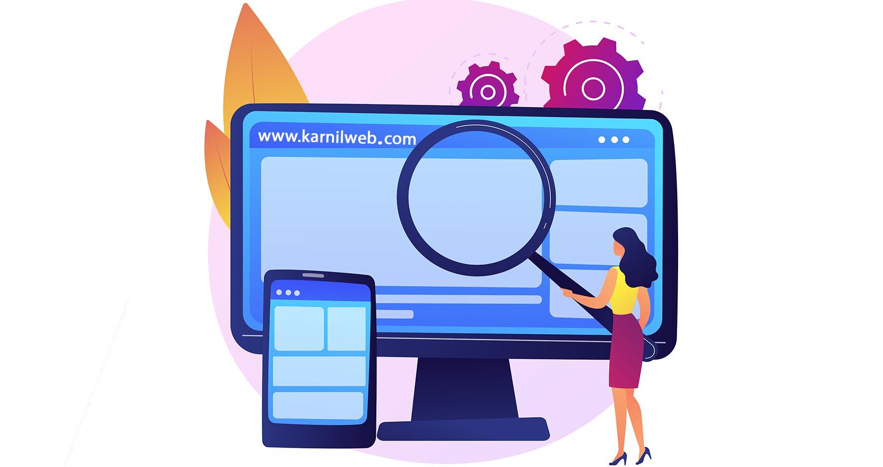 دلایل اهمیت طراحی سایت واکنشگرا - کارنیل وب