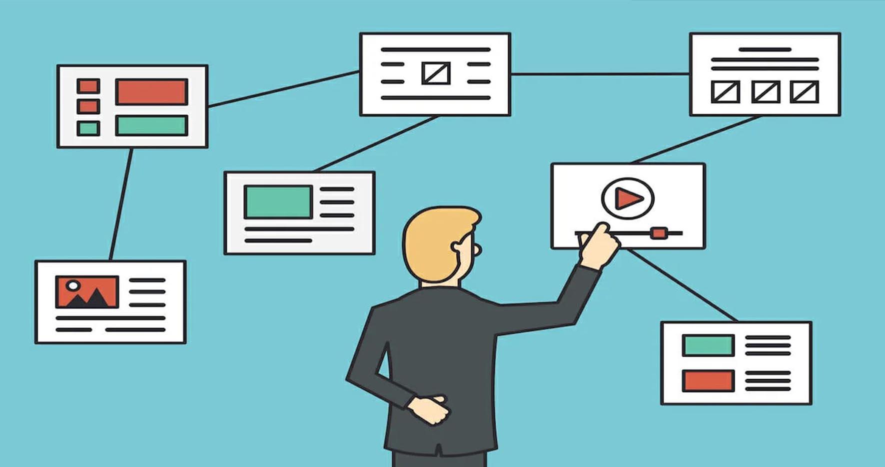 5 نکته طراحی سایت حرفه ای - برنامه ریزی