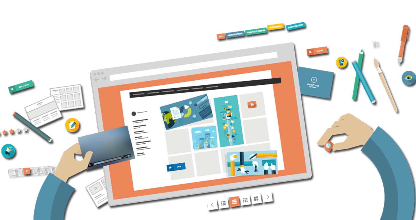 5 نکته طراحی سایت حرفه ای - طراحی سایت کاربرپسند