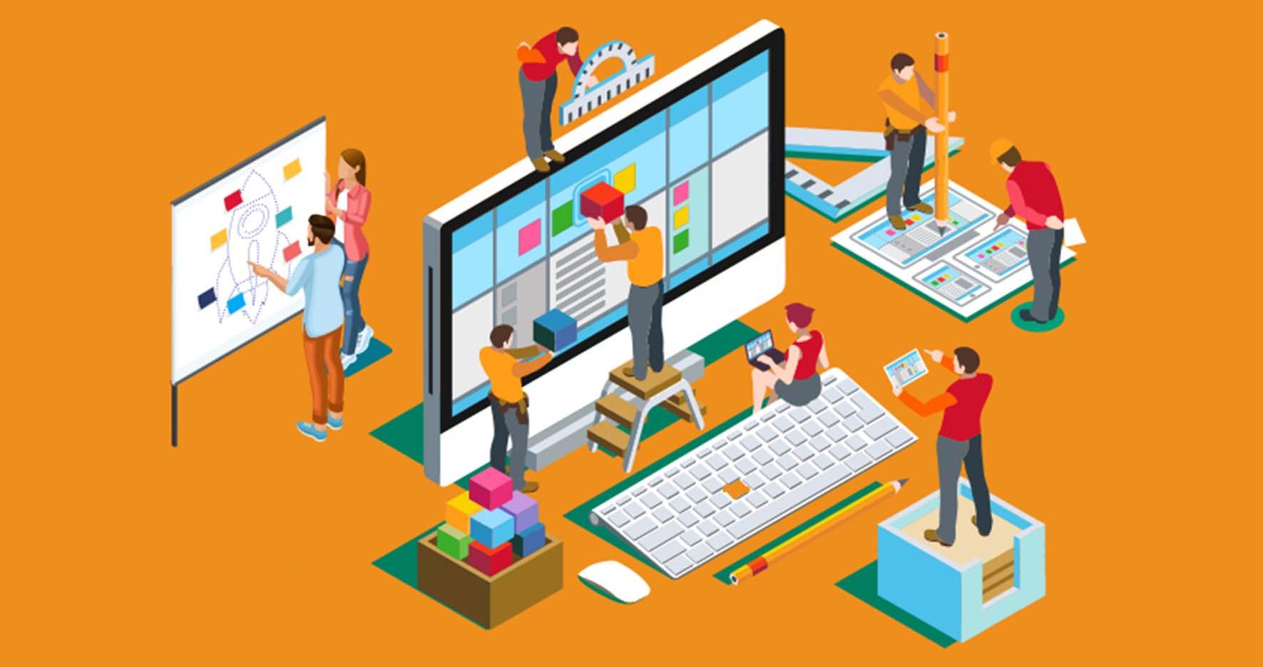 5 نکته طراحی سایت حرفه ای - طراحی مدرن